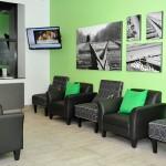Salle d'attente du Centre Dentaire de la Cité Verte