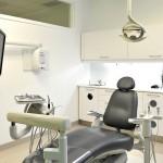Salle d'examen du Centre Dentaire de la Cité Verte